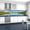 Mẫu kính ốp bếp in tranh 3D TOP-100
